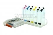 СНПЧ с чипами Canon PGI-550, CLI-551 для принтеров и МФУ Canon (6 цветов)