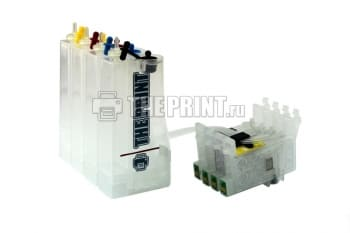 СНПЧ для принтеров Epson Stylus C82/ CX5200/ CX5400. Вид  1