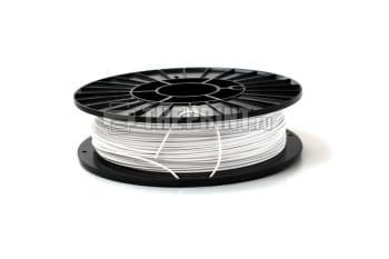 Купить белый ABS пластик для 3D принтеров и ручек диаметром 1,75мм. Вид 1.