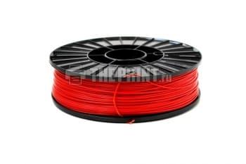 Купить красный ABS пластик для 3D принтеров и ручек диаметром 1,75мм. Вид 1.