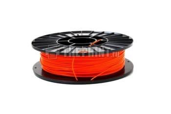 Купить оранжевый ABS пластик для 3D принтеров и ручек диаметром 1,75мм. Вид 1.