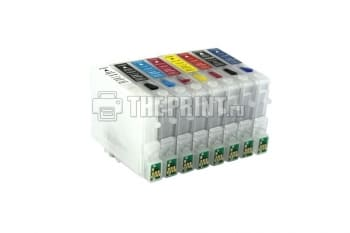 ПЗК (Перезаправляемые картриджи) для Epson Stylus Photo R800/ R1800. Вид  1