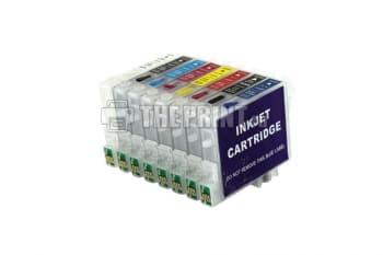ПЗК (Перезаправляемые картриджи) для Epson Stylus Photo R800/ R1800. Вид  2
