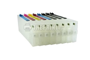 ПЗК (Перезаправляемые картриджи) для Epson Stylus Pro 4880. Вид  3