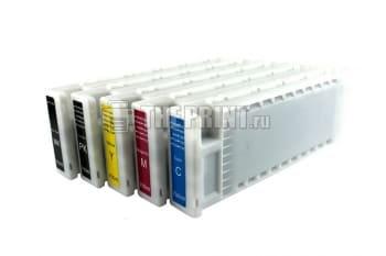 ПЗК (Перезаправляемые картриджи) для Epson SureColor SC-T3000/ T5000/ T7000. Вид  2
