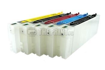 ПЗК (Перезаправляемые картриджи) для Epson Stylus Pro 7700/ 7710/ 9700/ 9710. Вид  2
