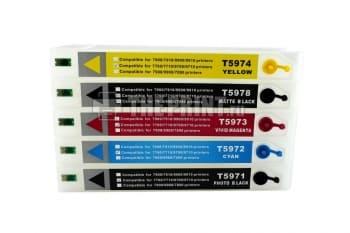 ПЗК (Перезаправляемые картриджи) для Epson Stylus Pro 7700/ 7710/ 9700/ 9710. Вид  4