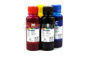 Комплект пигментных чернил Ink-Mate (100ml. 4 цвета) для принтеров Epson. Вид  3