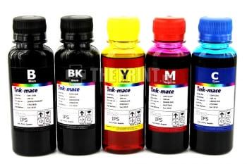 Комплект чернил Canon Ink-Mate (100ml. 5 цветов) для принтеров Canon PIXMA iP7240/ MG5640. Вид  1