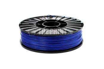 Купить синий ABS пластик для 3D принтеров и ручек диаметром 1,75мм. Вид 2.