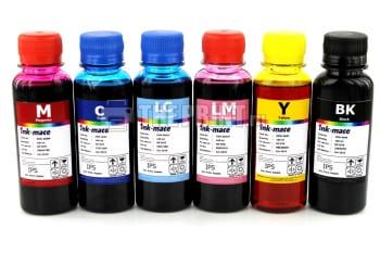 Комплект чернил HP Ink-Mate (100ml. 6 цветов) для картриджей HP. Вид  1