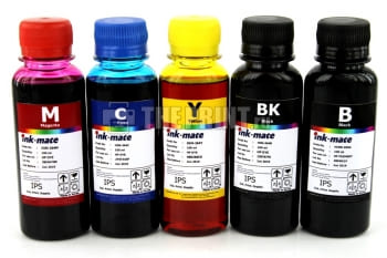 Комплект чернил HP Ink-Mate (100ml. 5 цветов) для картриджей HP. Вид  1