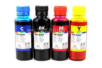 Комплект универсальных чернил Brother Ink-Mate (100ml. 4 цвета) для принтеров Brother. Вид  1