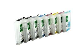 ПЗК (Перезаправляемые картриджи) для HP Photosmart Pro B8850/ B9100/ B9180. Вид  1
