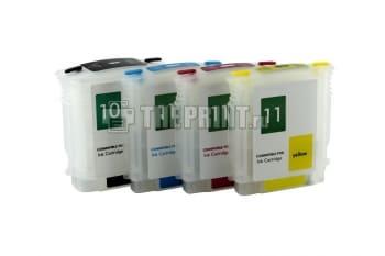 ПЗК (Перезаправляемые картриджи) для HP Business InkJet-2800/ DesignJet-100/ 110. Вид  2