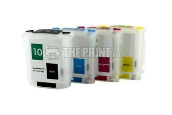 ПЗК (Перезаправляемые картриджи) для HP Business InkJet-2800/ DesignJet-100/ 110. Вид  1