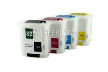 ПЗК (Перезаправляемые картриджи) для HP DesignJet 510. Вид  1