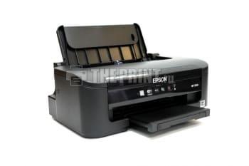 Принтер Epson WorkForce WF-2010W с установленным СНПЧ. Вид  4