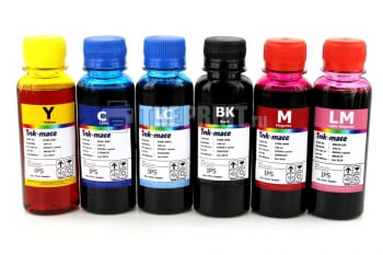 Комплект чернил Epson L-series Ink-Mate (100ml. 6 цветов) для принтеров Epson L800/ L850. Вид  1