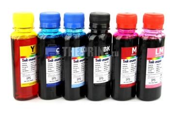 Комплект чернил Epson L-series Ink-Mate (100ml. 6 цветов) для принтеров Epson L800/ L850. Вид  2