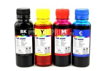Комплект чернил Epson L-series Ink-Mate (100ml. 4 цвета) для принтеров Epson L120/ L200/ L210. Вид  1