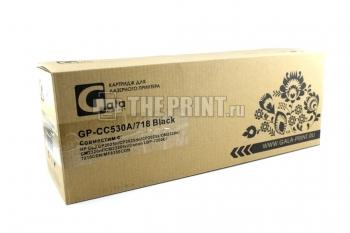 Картридж Canon C-718Bk для принтеров Canon LBP-7200/ 7210/ MF-724/ 728. Вид  4