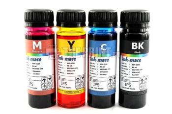 Комплект универсальных чернил Brother Ink-Mate (50ml. 4 цвета) для принтеров Brother. Вид  1