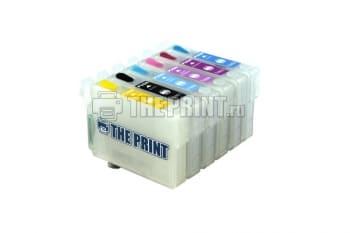 ПЗК (Перезаправляемые картриджи) для Epson Stylus Photo P50/ PX660. Вид  1
