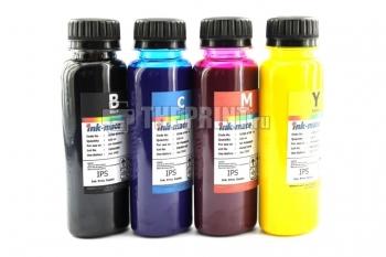 Комплект пигментных чернил HP Ink-Mate (100ml. 4 цвета) для картриджей HP. Вид  2