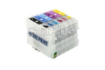 ПЗК (Перезаправляемые картриджи) для Epson Stylus Photo R200/ R300/ R340. Вид  2