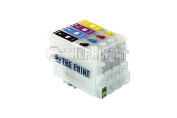 ПЗК (Перезаправляемые картриджи) для Epson Stylus C84/ C86/ CX6600. Вид  3