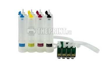 СНПЧ для принтеров Epson Stylus S22/ SX125/ SX130. Вид  4