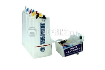 СНПЧ для принтеров МФУ Epson WorkForce WF-2010/ WF-2540/ WF-2630. Вид  3