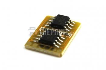 Чип для желтый картриджей Samsung CLP-Y300A ресурс 1000 страниц. Вид  4