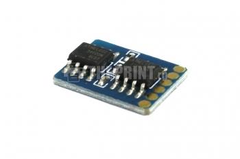 Чип для голубых картриджей Samsung CLP-C300A ресурс 1000 страниц. Вид  3