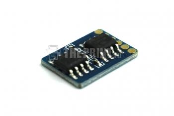 Чип для голубых картриджей Samsung CLP-C300A ресурс 1000 страниц. Вид  4