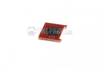 Чип для пурпурных картриджей HP 648A (CE263A) ресурс 11000 страниц. Вид  4