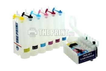 СНПЧ для принтеров Epson Stylus  Photo P50/ PX660. Вид  3