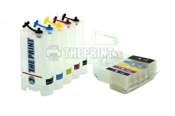 СНПЧ для принтеров Epson Expression Premium XP-600/ XP-605/ XP-700. Вид  3