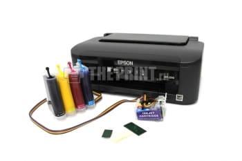 Принтер Epson WorkForce WF-2010W с установленным СНПЧ. Вид  3