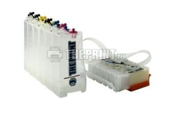 СНПЧ с чипами для принтеров и МФУ Canon PIXMA iP8740/ MG7140/ MG7540. Вид 2