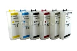 ПЗК (Перезаправляемые картриджи) для HP DesignJet-T610/ T790/ T795/ T2300. Вид  2