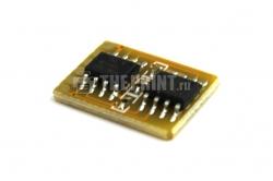 Чип для желтый картриджей Samsung CLP-Y300A ресурс 1000 страниц. Вид  3
