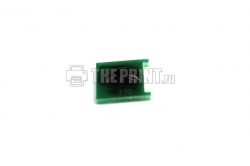 Чип для пурпурных картриджей HP 125A (CB543A) ресурс 1400 страниц. Вид  3